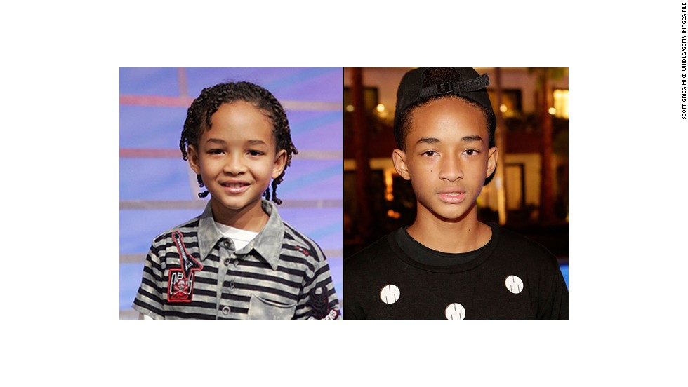 "Eight years ago, Jaden Smith was a baby-faced child star appearing with his dad, Will, in 2006's ""The Pursuit of Happyness."" Although he once again starred with his father in 2013's ""After Earth,"" teenaged Jaden isn't a kid anymore."