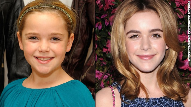"""Mad Men"" fans have watched Kiernan Shipka grow up as Sally, the daughter of protagonist Don Draper. Having starred on the series since she was 7, Shipka's gone from being a little ballerina with a lisp to a teen girl with enviable poise."