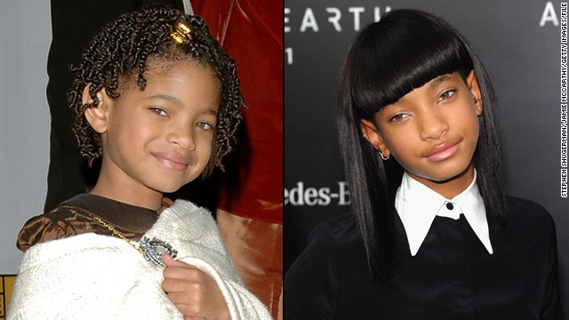 "Along with her older brother Jaden, 12-year-old Willow Smith has blossomed since she first appeared alongside dad Will in his 2007 film, ""I Am Legend."" The actress and singer showed a more mature look this spring at the May 2013 premiere of ""After Earth."""