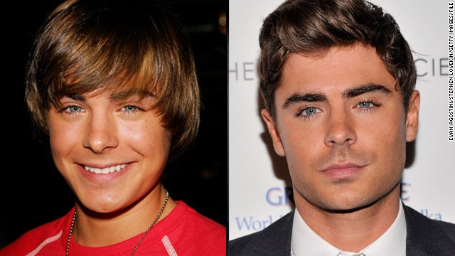 "Along with Hudgens, Zac Efron was just a teen when he became famous with Disney's ""High School Musical."" Now 26, Efron caters to audiences well past high school, such as his turn in Lee Daniels' film ""The Paperboy."""