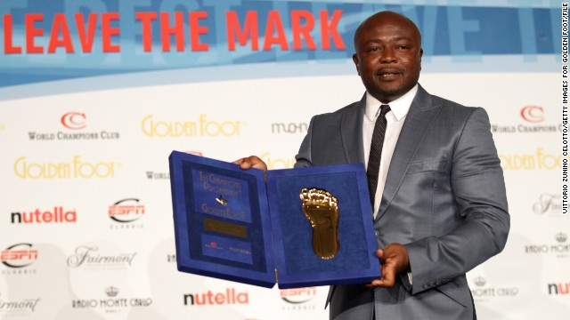 "Ghanaian legend Abedi ""Pele"" Ayew is one of Africa's football pioneers, renowned for his dazzling footwork and nimble athleticism."