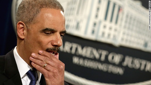 When did Attorney General Eric Holder formally recuse himself from the leak investigation?