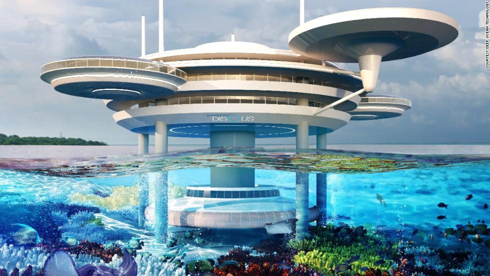 Un hotel submarino para alojarse bajo el mar en maldivas cnn for Hotel bajo el agua precio