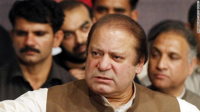 Pakistan's Prime Minister Nawaz Sharif said earlier this week he wants to hold talks with militants.
