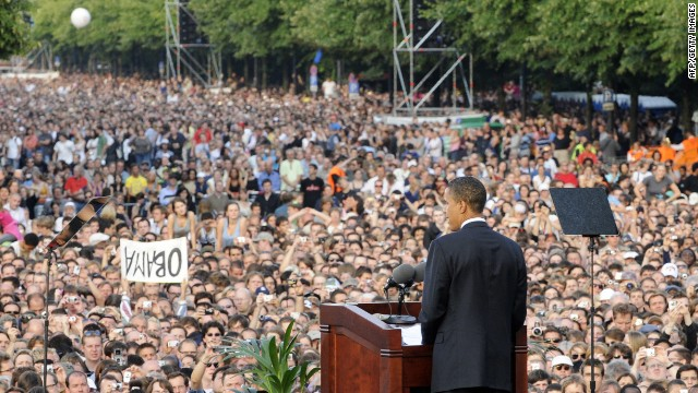 Obama returning to famed Berlin rally site