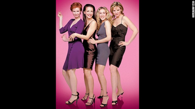 "Believe it or not, ""Sex and the City"" first debuted in 1998. And somehow, even with episodes in constant rotation on cable plus two so-so movies, Sarah Jessica Parker (third from left) is still <a href='http://www.usmagazine.com/celebrity-news/news/sarah-jessica-parker-a-third-sex-and-the-city-movie-would-be-wonderful-201345' target='_blank'>considering giving Carrie Bradshaw another go.</a> Also pictured from left: Cynthia Nixon as Miranda Hobbes, Kristin Davis as Charlotte York, Parker, and Kim Cattrall as Samantha Jones."