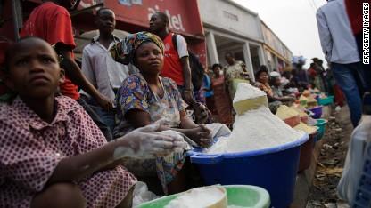 cassava flour congo