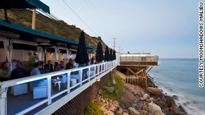 There are lots of beach bars on California\'s Pacific Coast Highway, but only one Moonshadows.