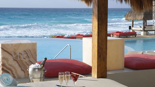 Swim-up bar, poolside bar, lounge bar with a pretty decent view -- what else you want? Number 22 has it covered.
