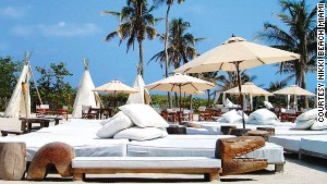 Nikki Beach: reservations and good-lookers only.