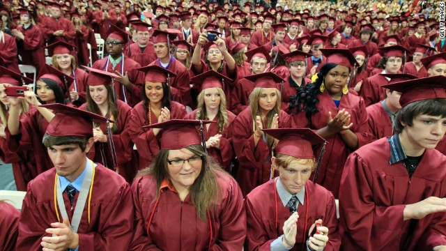 My View: What you won't hear at high school graduation