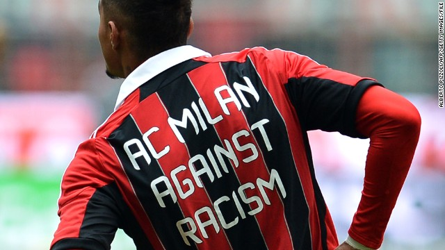AC Milan star Kevin Prince-Boateng has been outspoken in his fight against racism.