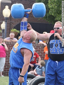 Festival strongman events separate the Superboys from the Supermen.