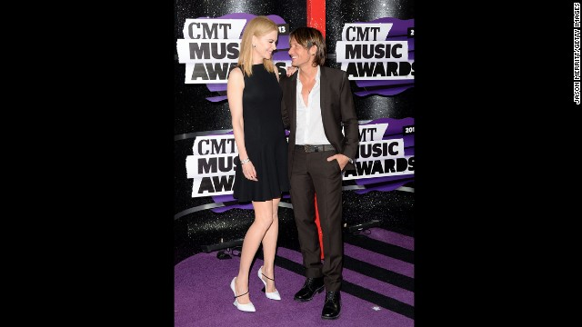 Actress Nicole Kidman and musician Keith Urban