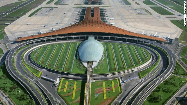 "Sir Norman Foster ""is more successful than anyone else at designing airports in a new way that works,"" says Paul Goldberger."