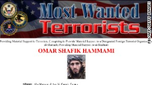 Omar Hammami, raised in Alabama, is on the FBI\'s most wanted list and faces multiple terrorism charges.
