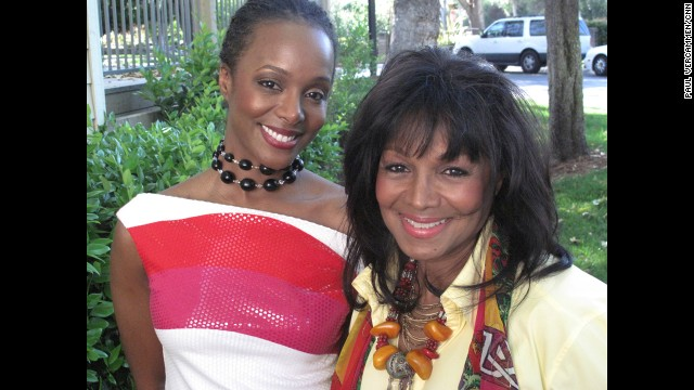 Yashi Brown, Rebbie Jackson's second child, is a poet and advocate on mental health issues.