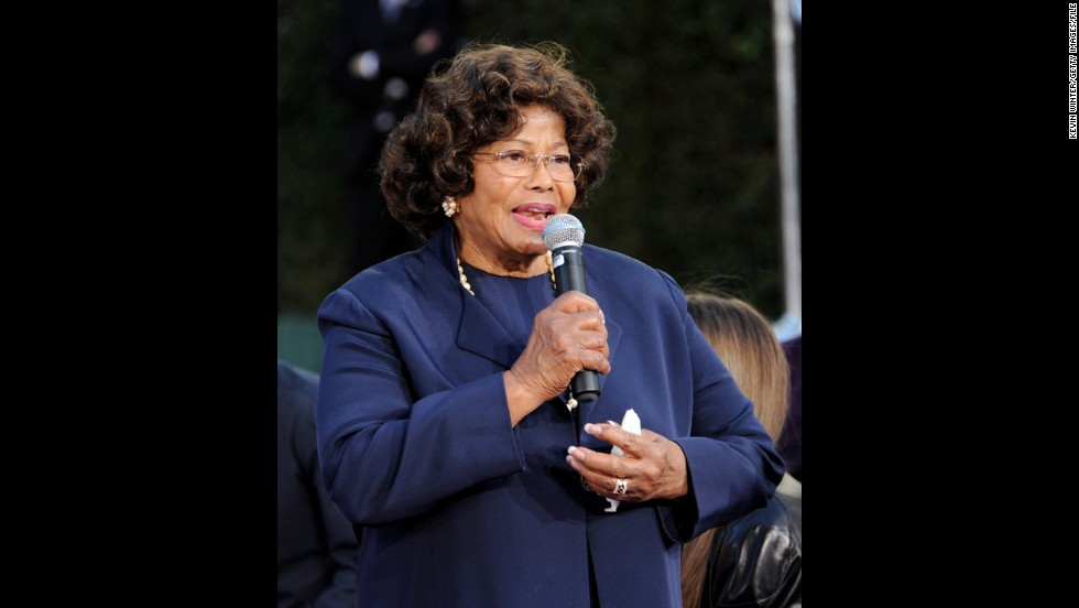 Katherine Jackson is the matriarch of the Jackson family. Here she attends the hand and footprint ceremony for son Michael at Grauman's Chinese Theatre in January 2012 in Los Angeles.