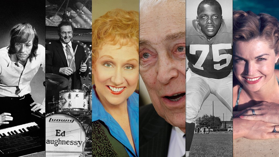 A look back at those we have lost in 2013.