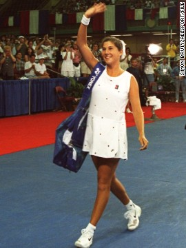 Seles finally returned to the WTA Tour in August 1995, coming back with a bang as she beat Amanda Coetzer in the final of the Canadian Open.