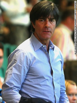 The Germany coach Joachim Low was in attendance, along with tennis legend and Bayern Munich fan Boris Becker.