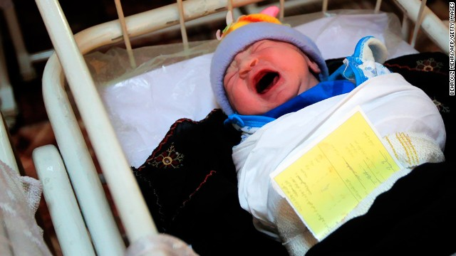<strong>Mothers die in childbirth:</strong> In one country, one in 100 live births kills the mother. <a href='http://www.cnn.com/changethelist'>Vote here.</a>
