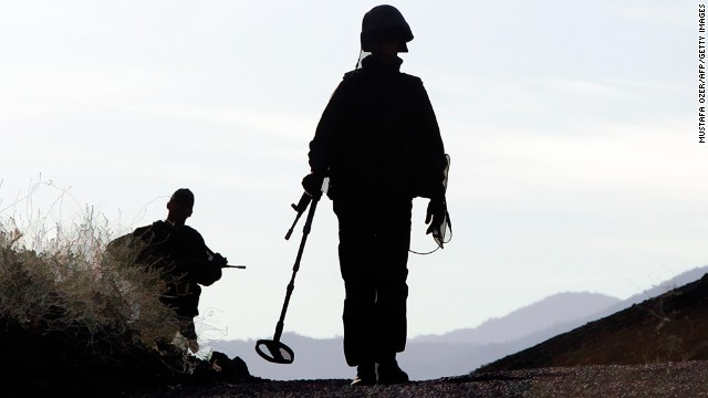 <strong>Land mines end lives:</strong> Land mines still kill thousands per year. What can be done to remove them? <a href='http://www.cnn.com/changethelist'>Vote here.</a>