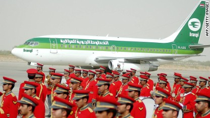 Iraqi Airways reaches for the skies