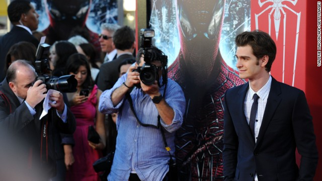 Andrew Garfield: What if 'Spider-Man's' MJ were a boy?