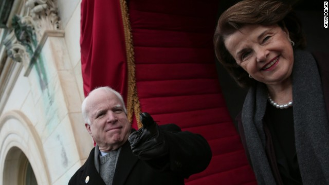 McCain, Feinstein, McDonough travel to Guantanamo Bay