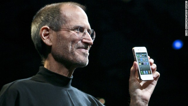 Jobs, looking alarmingly thin, introduced the iPhone 4 during his keynote address at the 2010 WWDC.