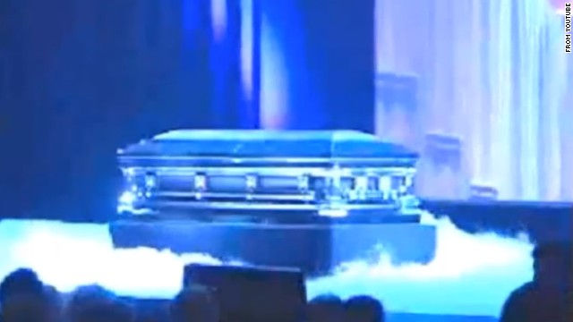 "At the 2002 WWDC, Jobs presided over a theatrical mock funeral for Apple's OS 9 operating system, complete with casket, fog and organ music. ""It's been a good friend,"" he said."