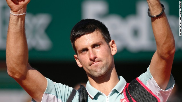 Novak Djokovic came close, but he was unable to beat Rafael Nadal in a repeat of last year's French Open final.