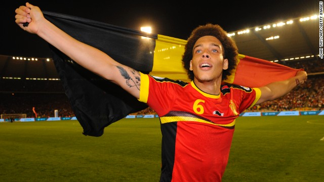 Midfielder Axel Witsel and his Belgian teammates moved a step closer to qualifying for next year's World Cup in Brazil.