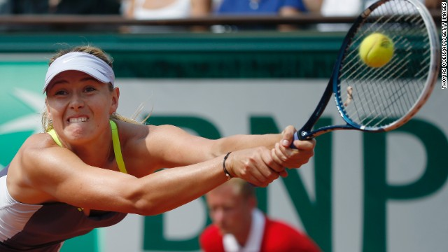 Sharapova returns to Williams.