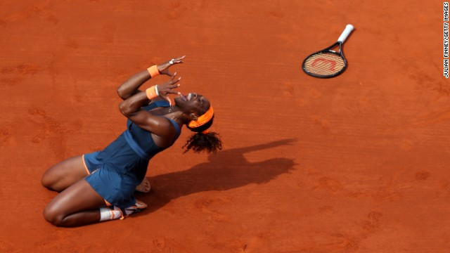 Photos: The French Open: Women\'s singles final