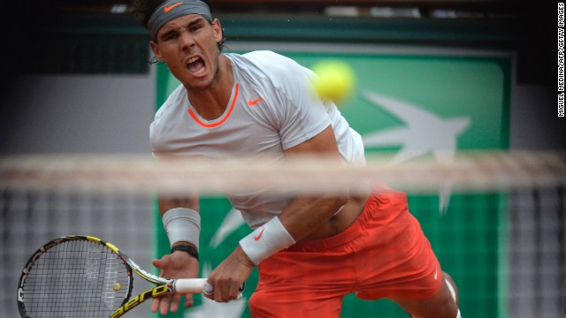 Nadal serves to Ferrer.