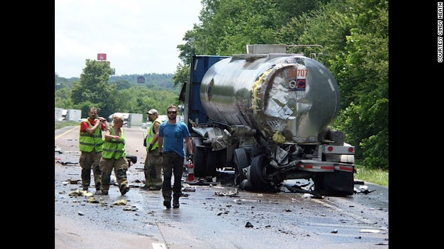 "Country singer <a href='http://marquee.blogs.cnn.com/2013/06/10/john-malkovich-craig-morgan-put-on-their-capes/?iref=allsearch'>Craig Morgan jumped to the rescue</a> on June 9 when he saw a highway crash ahead of his bus in Humphreys County, Tennessee. Since Morgan is a trained EMT, he helped put out a small fire and get everyone involved to safety. "" border=""0″ height=""360″ id=""articleGalleryPhoto007″ style=""margin:0 auto;display:none"" width=""640″/><cite style="
