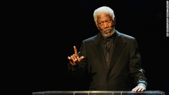 "Award-winning actor Morgan Freeman often offers his bizarre views on faith and also refers to himself as God, telling interviewers that he is God because ""God's created in my image."" Morgan has even portrayed God on the big screen in ""Bruce Almighty."""