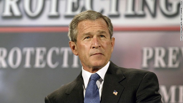The New York Times reported in 2005 that in the months after the September 11, 2001, attacks, President George W. Bush authorized the U.S. National Security Agency to eavesdrop without a court warrant on people in the United States, including American citizens, suspected of communicating with al Qaeda members overseas. The Bush administration staunchly defended the controversial surveillance program. Russ Tice, an NSA insider, came forward as one of the anonymous sources used by the Times. He said he was concerned about alleged abuses and a lack of oversight. Here, President Bush participates in a conversation about the Patriot Act in Buffalo, New York, in April 2004.