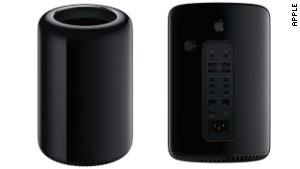 The sleek black Mac Pro doesn\'t look like anything else on the market.