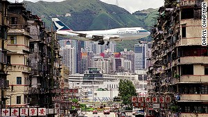 Hong Kong airport's glory days
