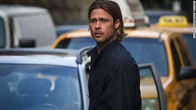 Brad Pitt stars as Gerry Lane in