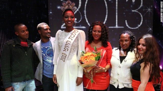 In February 2013 Ethiopian-born Yiytish Aynaw became the first woman of African descent to be named Miss Israel.
