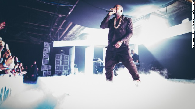 'Yeezus' debuts at No. 1