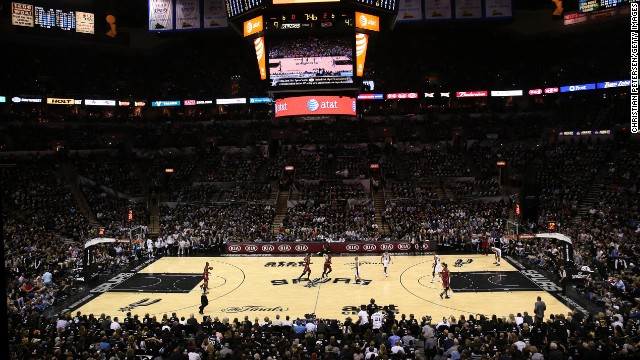 The San Antonio Spurs and the Miami Heat face off in Game 3 of the 2013 NBA Finals on Tuesday, June 11, in San Antonio.