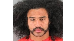 Yeiner Perez was arrested after allegedly running amok at a San Francisco train station.