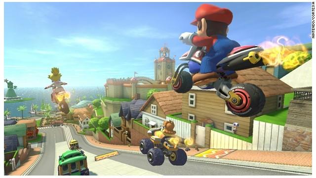 """""""Mario Kart 8"""" llega a Wii U de Nintendo con la función antigravedad"""