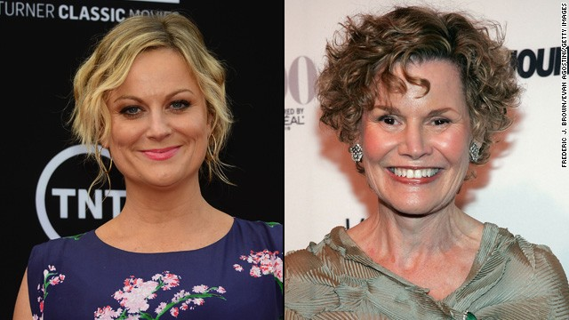 Amy Poehler is a Judy Blume fan