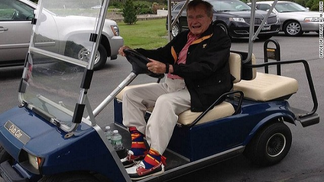 Bush 41 socks raked in $1 million for RNC